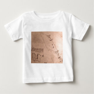 Design of locks on a river t-shirts