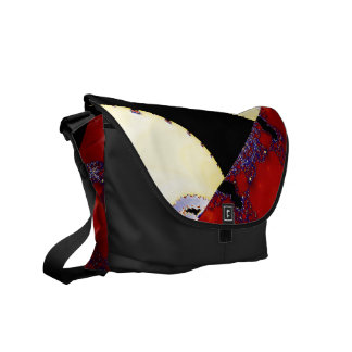 Design Patchwork Messenger Bag