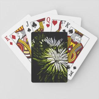 design.png floral verde y blanco hermoso barajas de cartas