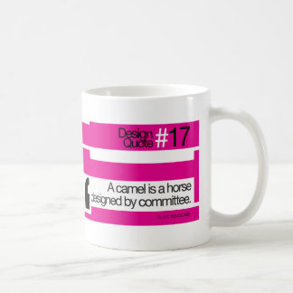 Design Quote #17 - Camel , horse, committee Classic White Coffee Mug