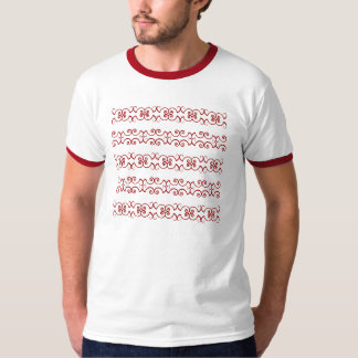 design - red and grey T-Shirt