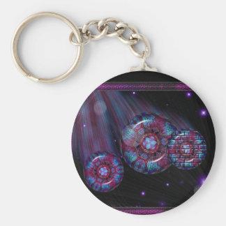 Design Reef Graphic Art Keychain