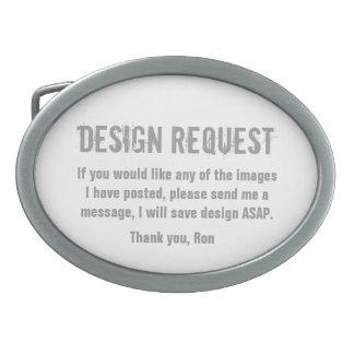 Design Request Belt Buckle