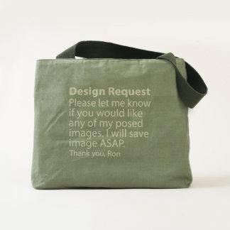 Design Request Canvas Utility Tote