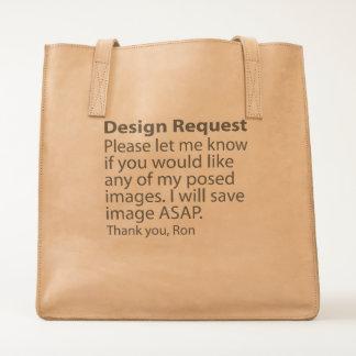 Design Request Tote