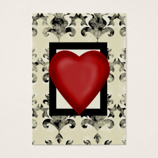 Design-royal-lonely-heart Business Card