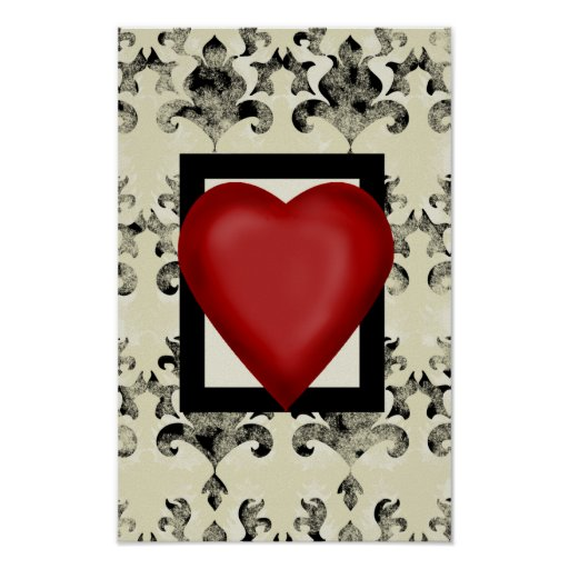 Design-royal-lonely-heart- Poster