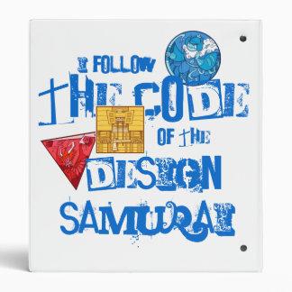 Design Samurai 3-ring Binder