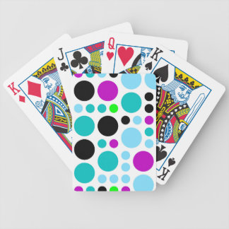 Design scores bicycle playing cards