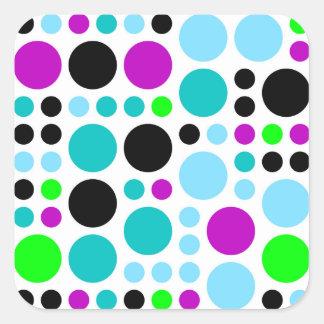 Design scores square sticker