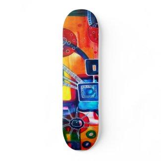 Design skateboard skateboard
