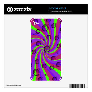 Design Swirl Skins For iPhone 4