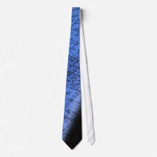 Design text over blue tie