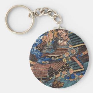 Design the Struggle by Utagawa Kuniyoshi Keychain