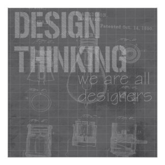 Design Thinking (1 of 6) Poster