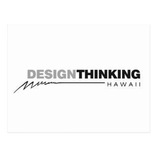 Design Thinking Hawaii Lightening Postcard