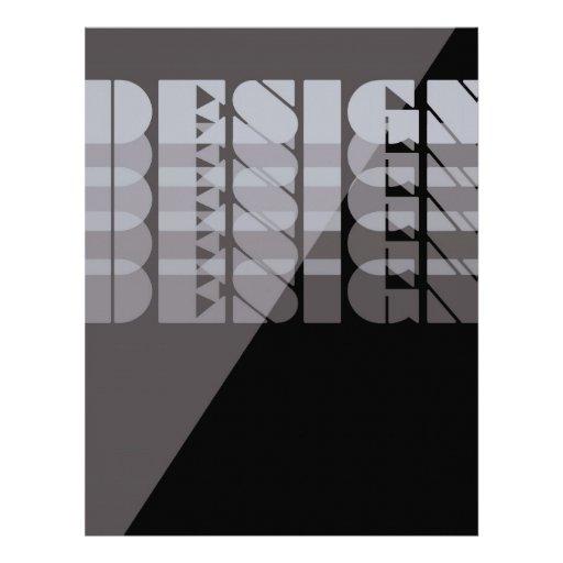 DESIGN Transparent Letterhead Design