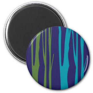 DESIGN Trees blue elements Magnet
