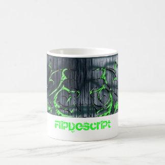 design-tribal, FlipDescript Coffee Mugs