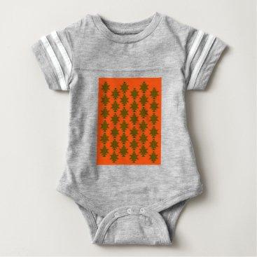 Aztec Themed Design wild aztecs eco baby bodysuit