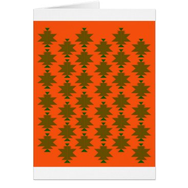 Aztec Themed Design wild aztecs eco card