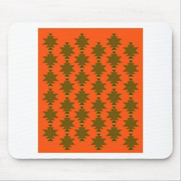 Design wild aztecs eco mouse pad