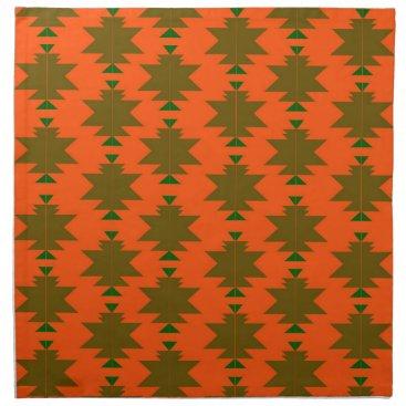 Aztec Themed Design wild aztecs eco napkin