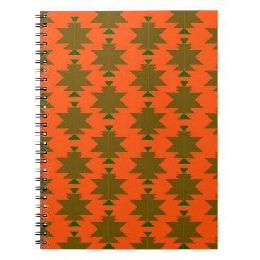 Aztec Themed Design wild aztecs eco notebook