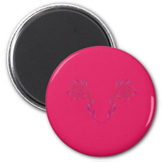 Design wings red Eco Magnet