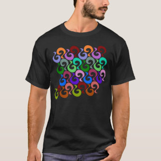 Design with Curls T-Shirt