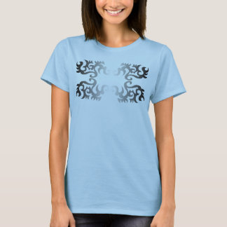 Design with spikes T-Shirt