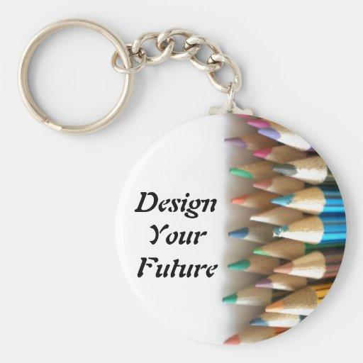 Design Your Future Keychain