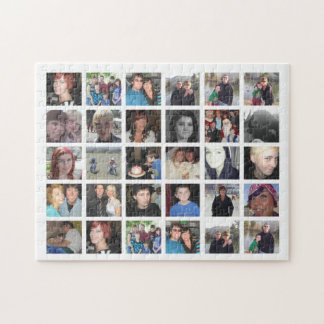 Design Your Own 30 Picture Instagram Photo Collage Puzzle