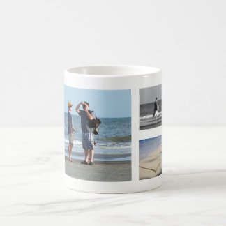 Design Your Own 5 Photo Collage | Family Vacation Coffee Mug