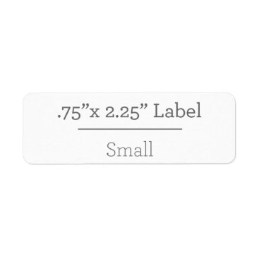 Beach Themed Design Your Own 8.5 X 11 Label