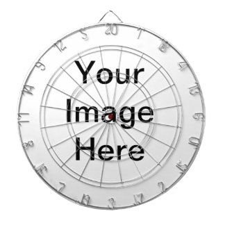 Design Your Own - Add Your Text Dartboard With Darts