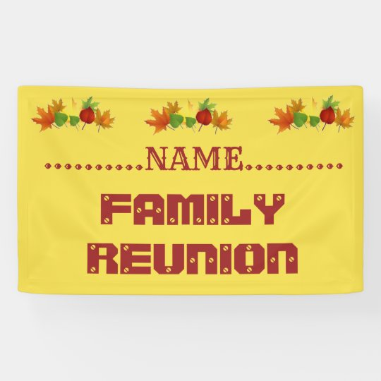 Design Your Own Banner: Design Your Own Banners For REUNIONS, PARTIES, ET
