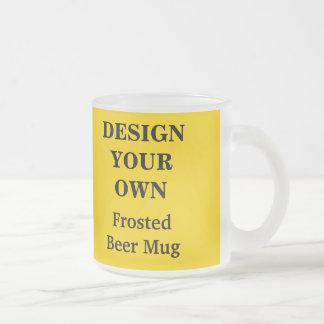 Design Your Own Beer Mug - Yellow
