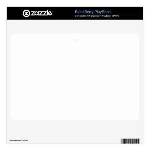 Design your own BlackBerry PlayBook Decals For BlackBerry