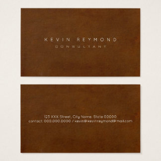 design your own brown pro standard business card
