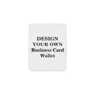Create Your Own Business Card Holders & Cases