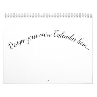 Design Your Own Calendar