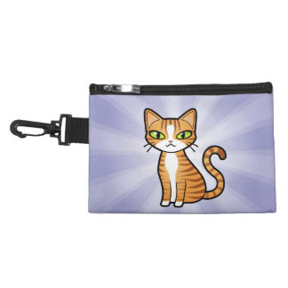 Design Your Own Cartoon Cat Accessory Bag