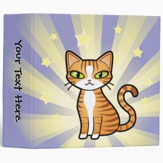 Design Your Own Cartoon Cat Binders