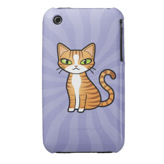 Design Your Own Cartoon Cat iPhone 3 Covers