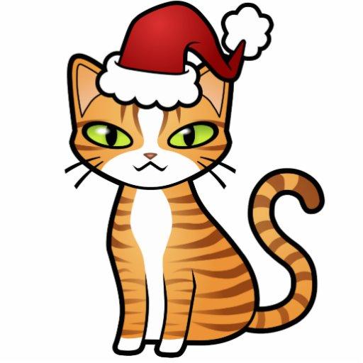 Design Your Own Cartoon Cat Christmas Photo Cutout Zazzle