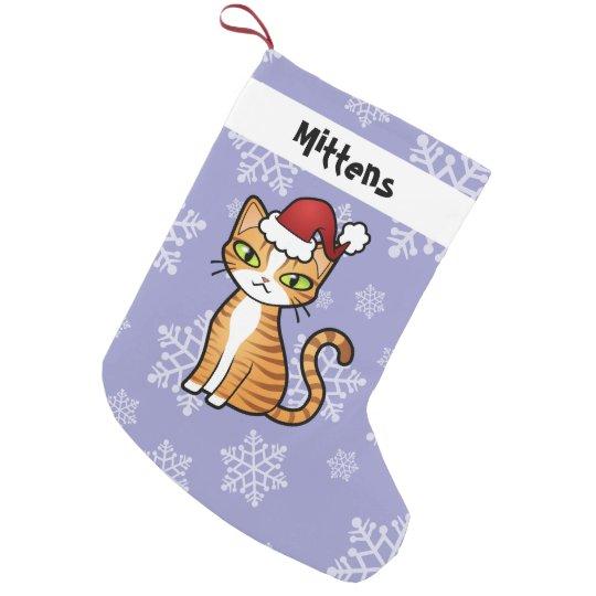 Design Your Own Cartoon Cat Christmas Small Christmas