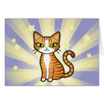 Design Your Own Cartoon Cat Greeting Cards