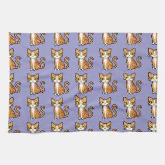 Design Your Own Cartoon Cat Hand Towels