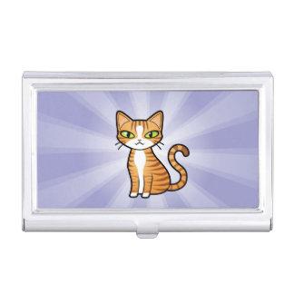 Design Your Own Cartoon Cat Business Card Case